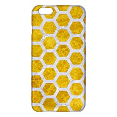 Hexagon2 White Marble & Yellow Marble Iphone 6 Plus/6s Plus Tpu Case by trendistuff