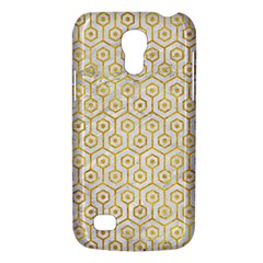 Hexagon1 White Marble & Yellow Marble (r) Galaxy S4 Mini by trendistuff