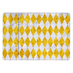 Diamond1 White Marble & Yellow Marble Samsung Galaxy Tab 10 1  P7500 Flip Case by trendistuff