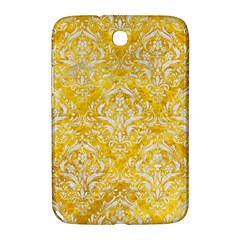 Damask1 White Marble & Yellow Marble Samsung Galaxy Note 8 0 N5100 Hardshell Case  by trendistuff