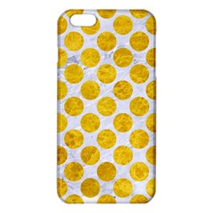 Circles2 White Marble & Yellow Marble (r) Iphone 6 Plus/6s Plus Tpu Case by trendistuff