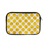 CIRCLES2 WHITE MARBLE & YELLOW MARBLE (R) Apple MacBook Pro 13  Zipper Case Front