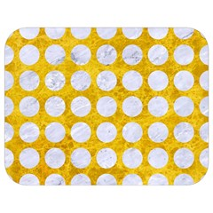 Circles1 White Marble & Yellow Marble Full Print Lunch Bag