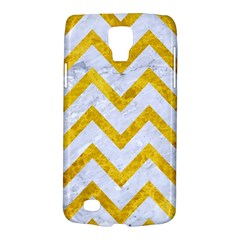 Chevron9 White Marble & Yellow Marble (r) Galaxy S4 Active