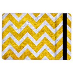 Chevron9 White Marble & Yellow Marble Ipad Air 2 Flip by trendistuff