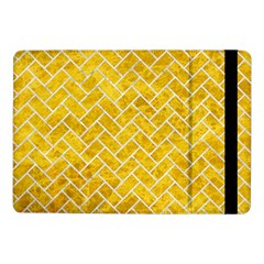 Brick2 White Marble & Yellow Marble Samsung Galaxy Tab Pro 10 1  Flip Case by trendistuff