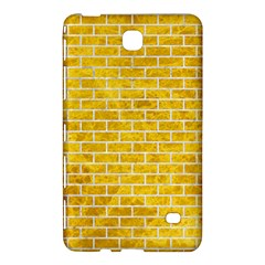 Brick1 White Marble & Yellow Marble Samsung Galaxy Tab 4 (8 ) Hardshell Case  by trendistuff