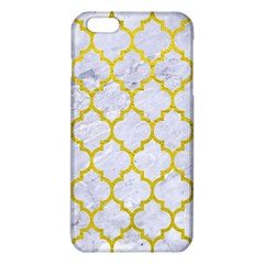 Tile1 White Marble & Yellow Leather (r) Iphone 6 Plus/6s Plus Tpu Case by trendistuff