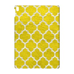 Tile1 White Marble & Yellow Leather Apple Ipad Pro 10 5   Hardshell Case by trendistuff