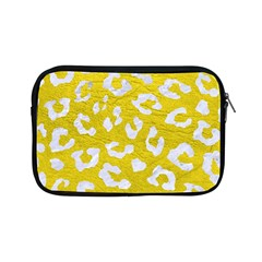 Skin5 White Marble & Yellow Leather (r) Apple Ipad Mini Zipper Cases by trendistuff