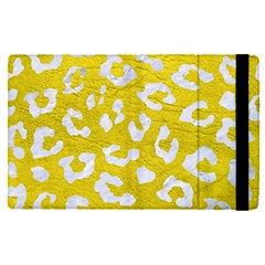 Skin5 White Marble & Yellow Leather (r) Apple Ipad Pro 12 9   Flip Case