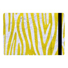 Skin4 White Marble & Yellow Leather (r) Apple Ipad Pro 10 5   Flip Case by trendistuff