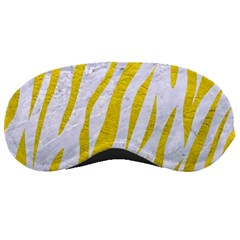Skin3 White Marble & Yellow Leather (r)skin3 White Marble & Yellow Leather (r) Sleeping Masks by trendistuff