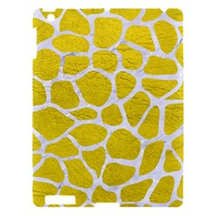 Skin1 White Marble & Yellow Leather (r) Apple Ipad 3/4 Hardshell Case by trendistuff