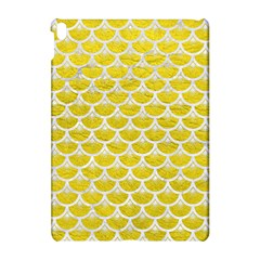Scales3 White Marble & Yellow Leather Apple Ipad Pro 10 5   Hardshell Case by trendistuff