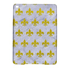 Royal1 White Marble & Yellow Leather Ipad Air 2 Hardshell Cases by trendistuff