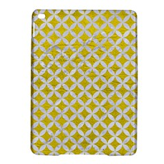 Circles3 White Marble & Yellow Leather Ipad Air 2 Hardshell Cases by trendistuff