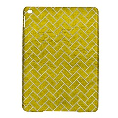 Brick2 White Marble & Yellow Leather Ipad Air 2 Hardshell Cases by trendistuff