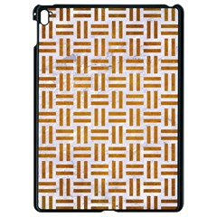 Woven1 White Marble & Yellow Grunge (r) Apple Ipad Pro 9 7   Black Seamless Case by trendistuff