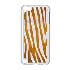 Skin4 White Marble & Yellow Grunge (r) Apple Ipod Touch 5 Case (white) by trendistuff