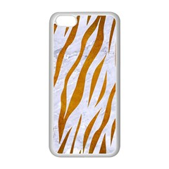 Skin3 White Marble & Yellow Grunge (r) Apple Iphone 5c Seamless Case (white) by trendistuff