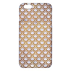 Scales2 White Marble & Yellow Grunge (r) Iphone 6 Plus/6s Plus Tpu Case by trendistuff