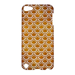SCALES2 WHITE MARBLE & YELLOW GRUNGE Apple iPod Touch 5 Hardshell Case