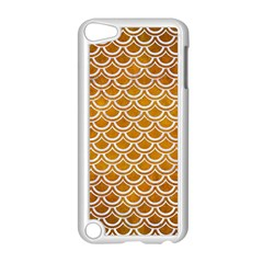 SCALES2 WHITE MARBLE & YELLOW GRUNGE Apple iPod Touch 5 Case (White)