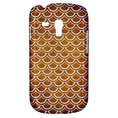 SCALES2 WHITE MARBLE & YELLOW GRUNGE Galaxy S3 Mini
