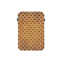 SCALES2 WHITE MARBLE & YELLOW GRUNGE Apple iPad Mini Protective Soft Cases
