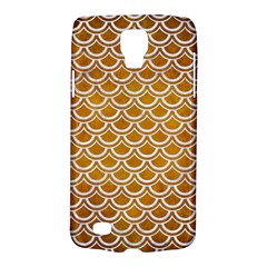 SCALES2 WHITE MARBLE & YELLOW GRUNGE Galaxy S4 Active