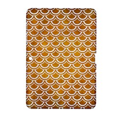 SCALES2 WHITE MARBLE & YELLOW GRUNGE Samsung Galaxy Tab 2 (10.1 ) P5100 Hardshell Case