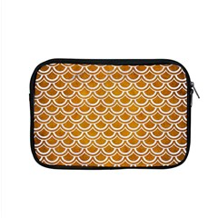 SCALES2 WHITE MARBLE & YELLOW GRUNGE Apple MacBook Pro 15  Zipper Case