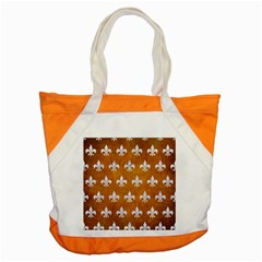 Royal1 White Marble & Yellow Grunge (r) Accent Tote Bag by trendistuff