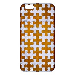 Puzzle1 White Marble & Yellow Grunge Iphone 6 Plus/6s Plus Tpu Case by trendistuff