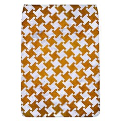 Houndstooth2 White Marble & Yellow Grunge Flap Covers (l)  by trendistuff