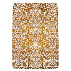 Damask2 White Marble & Yellow Grunge Flap Covers (l)