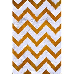 Chevron9 White Marble & Yellow Grunge (r) 5 5  X 8 5  Notebooks by trendistuff