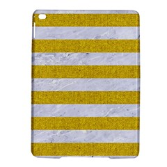 Stripes2white Marble & Yellow Denim Ipad Air 2 Hardshell Cases by trendistuff