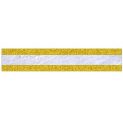 Stripes2white Marble & Yellow Denim Large Flano Scarf  by trendistuff
