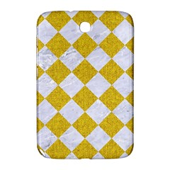Square2 White Marble & Yellow Denim Samsung Galaxy Note 8 0 N5100 Hardshell Case  by trendistuff
