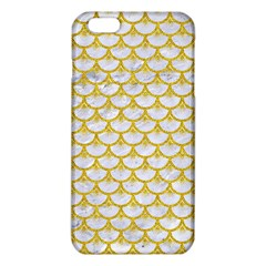 Scales3 White Marble & Yellow Denim (r) Iphone 6 Plus/6s Plus Tpu Case by trendistuff