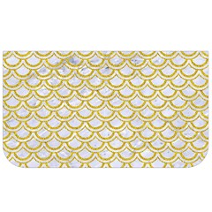 Scales2 White Marble & Yellow Denim (r) Lunch Bag by trendistuff