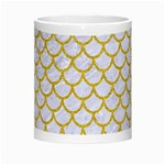 SCALES1 WHITE MARBLE & YELLOW DENIM (R) Morph Mugs Center