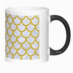 SCALES1 WHITE MARBLE & YELLOW DENIM (R) Morph Mugs Right
