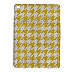Houndstooth1 White Marble & Yellow Denim Ipad Air 2 Hardshell Cases by trendistuff