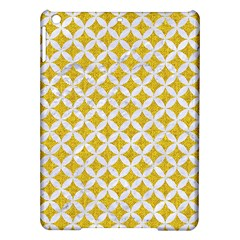 Circles3 White Marble & Yellow Denim Ipad Air Hardshell Cases by trendistuff