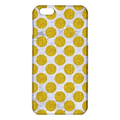 Circles2 White Marble & Yellow Denim (r) Iphone 6 Plus/6s Plus Tpu Case by trendistuff