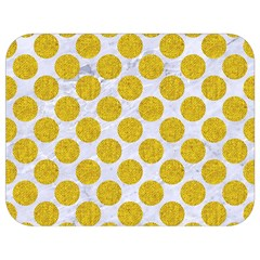 Circles2 White Marble & Yellow Denim (r) Full Print Lunch Bag by trendistuff