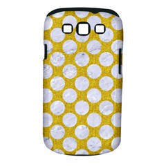 Circles2 White Marble & Yellow Denim Samsung Galaxy S Iii Classic Hardshell Case (pc+silicone) by trendistuff